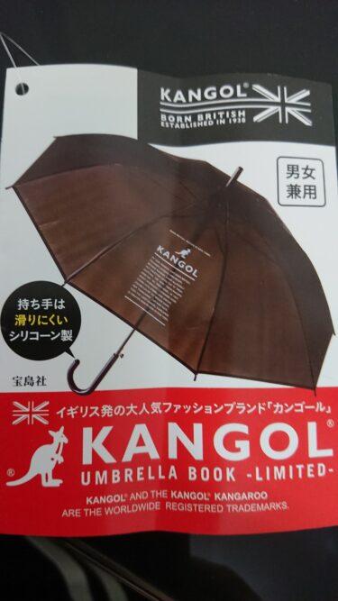 ローソン限定のカンゴールの傘を購入!宝島社の付録の雑誌はどこ?